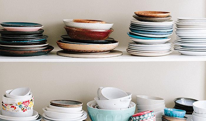食器を上手に収納する方法